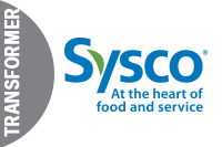 Transformer: Sysco Sponsor Badge 2019